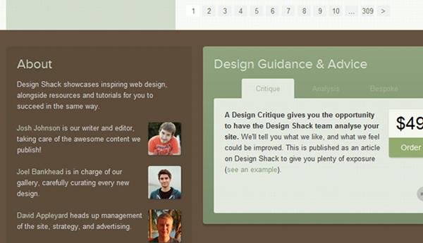 超炫的30个大尺寸页脚网页设计
