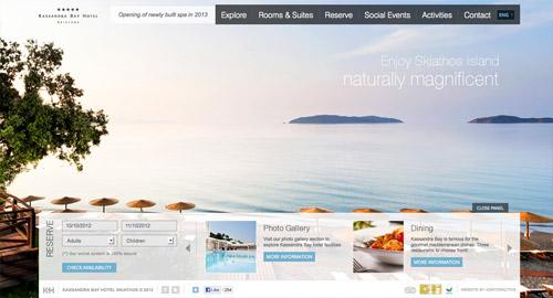 20个高质量的全屏网页设计