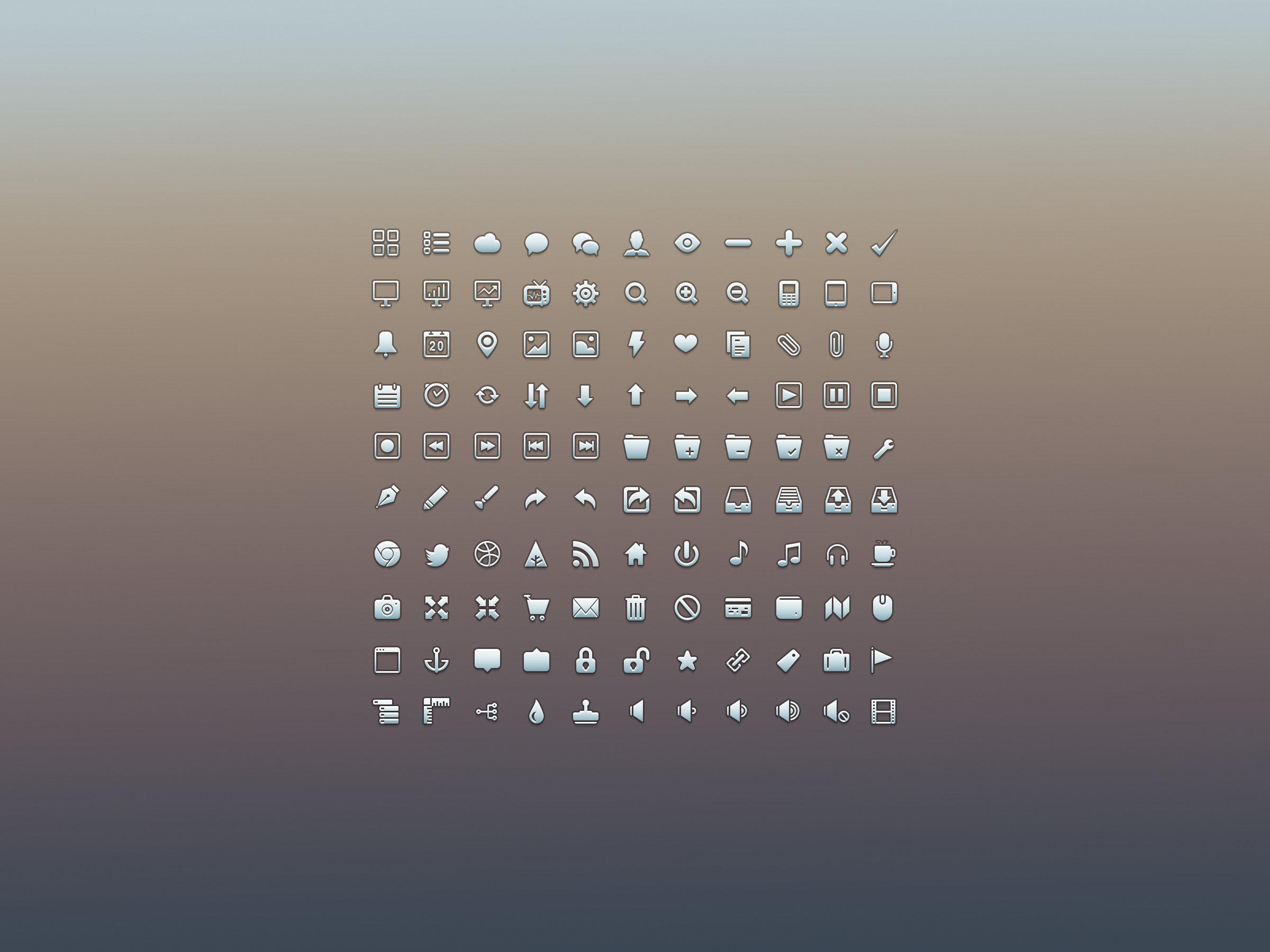 7套典藏优质ICON下载 - 优设-UISDC