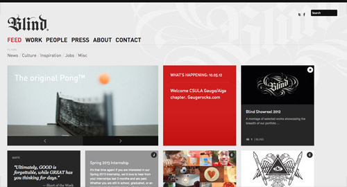 View the live website design