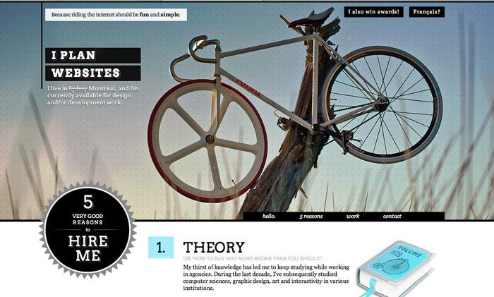 22枚赋予您灵感的固定导航网页设计