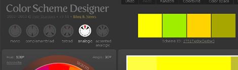 colorschemedesigner在线颜色方案设计 - 优设网 - UISDC