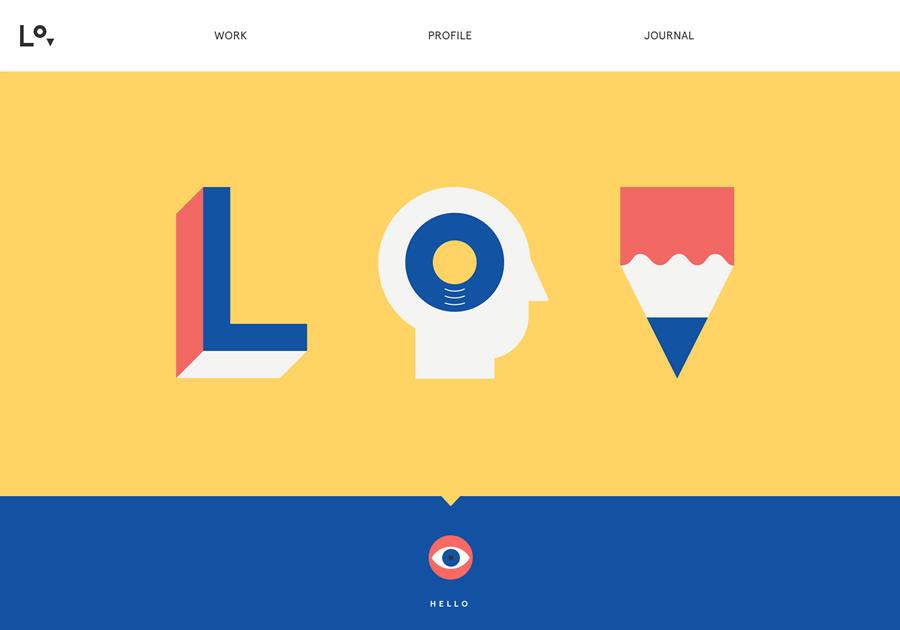 11个漂亮的插画风格网站设计