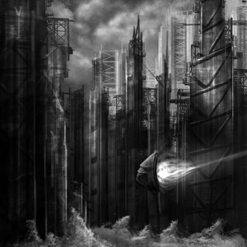 28张世界末日插画设计