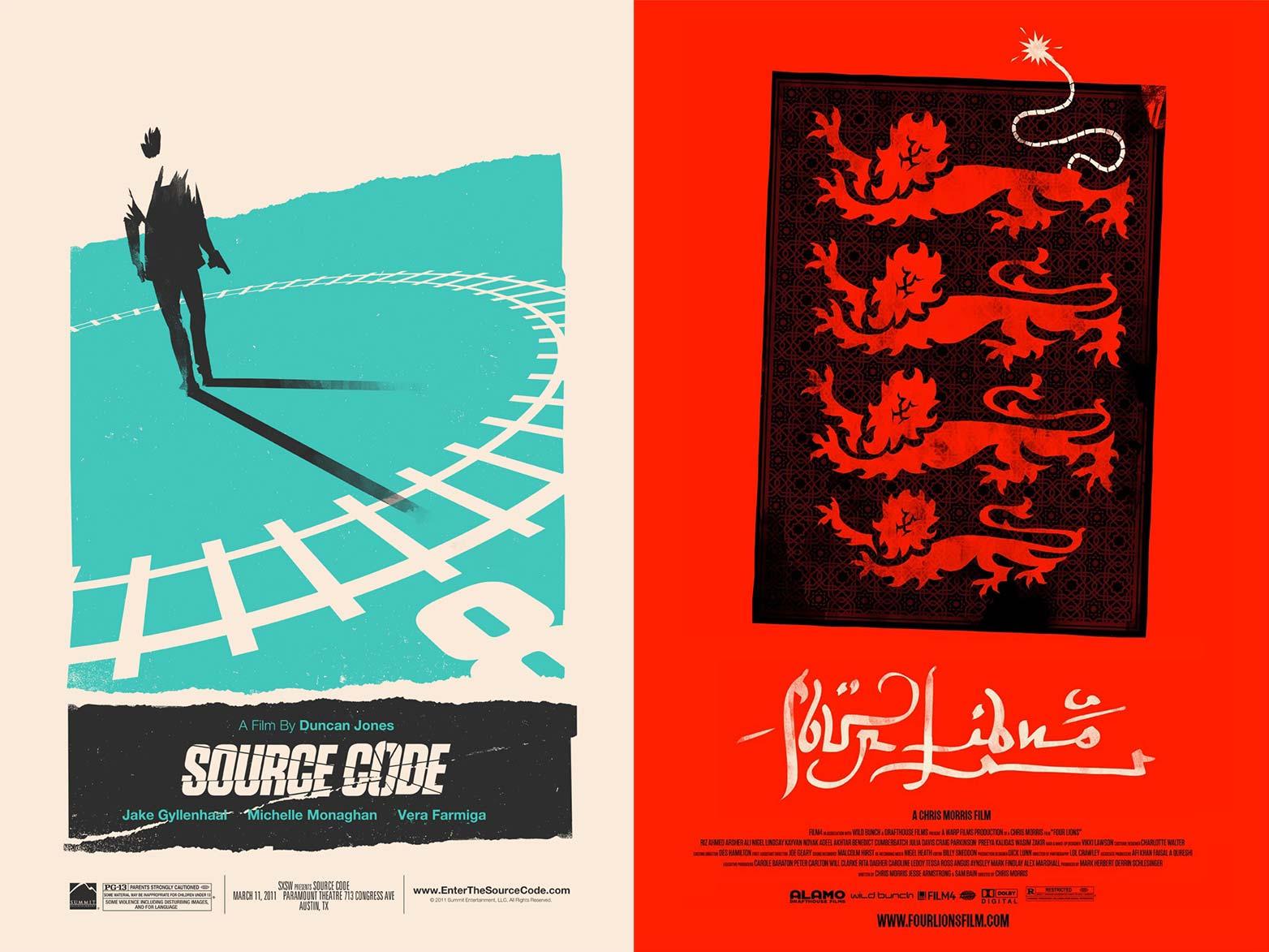 挑战电影海报设计