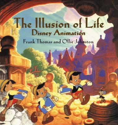 由迪士尼公司Frank Thomas 和 Ollie Johnston写的《生命的幻觉》