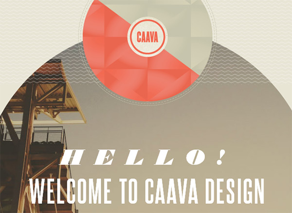 Сaava in 70 Best Creative Websites of 2012