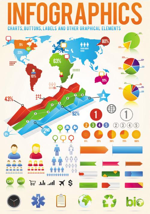 Infographic Design Elements Vector