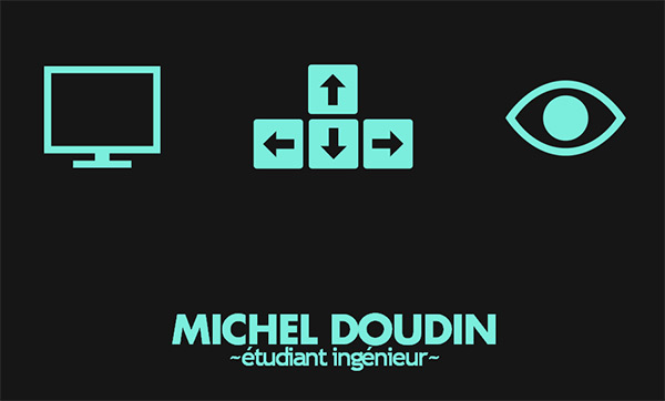 Portfolio de Michel Doudin in Creative Navigation In Web Design