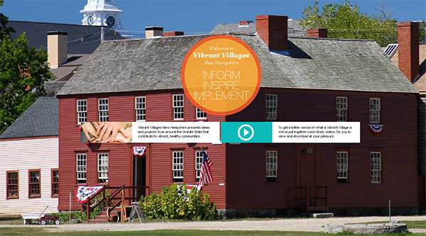 Vibrant Villages in 70 Best Creative Websites of 2012