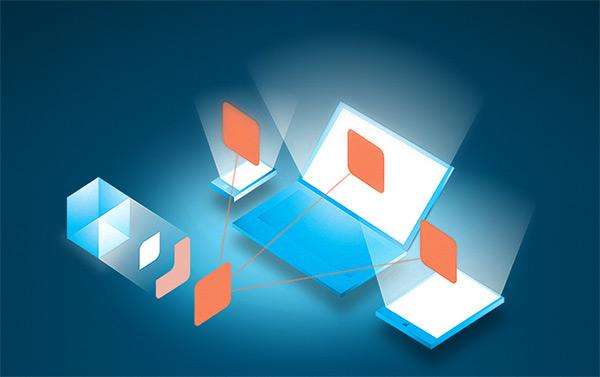 50个蓝色系网站设计