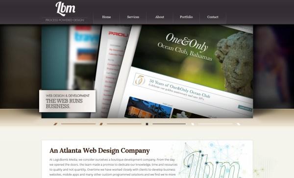 25个漂亮的设计作品集网站