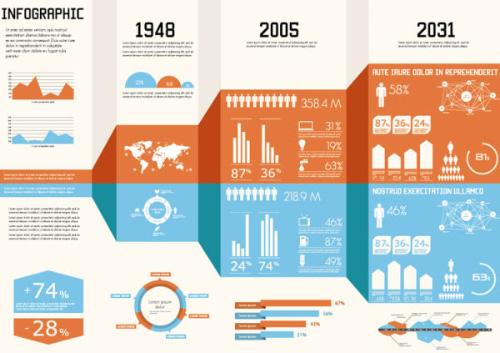 Year Infographic Elements