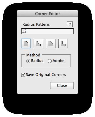 PS神器:编辑路径圆角Corner Editor