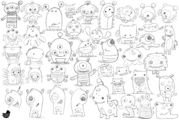 角色设计的40个顶级技巧(上篇):动物角色