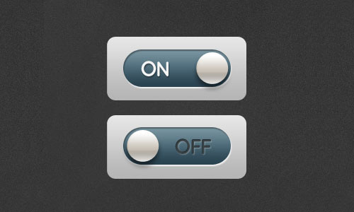 Free toggle buttons (retina display ready)