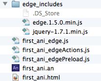 基于Edge Animate可视化工具开发CSS3动画