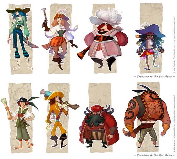 角色设计的40个顶级技巧(下篇):人物角色