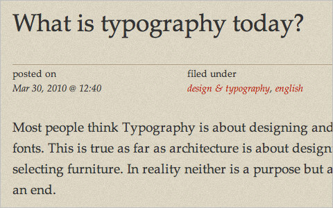 Useful Typography Resources - What is typography today?