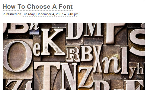 Useful Typography Resources - How To Choose A Font