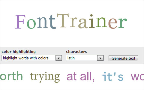 Useful Typography Resources - FontTrainer