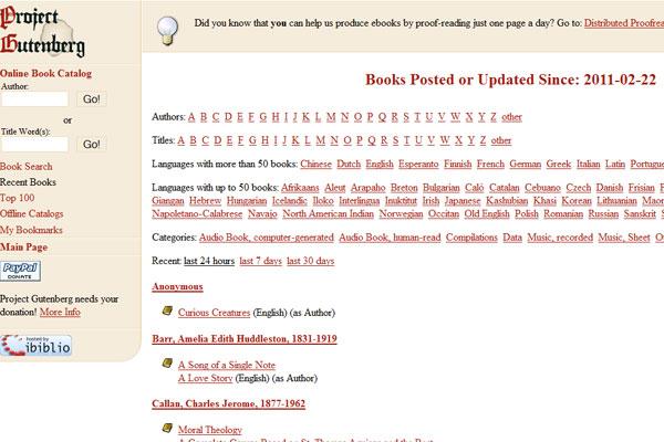 014341TyW 全球45个最热门免费下载电子图书的网站