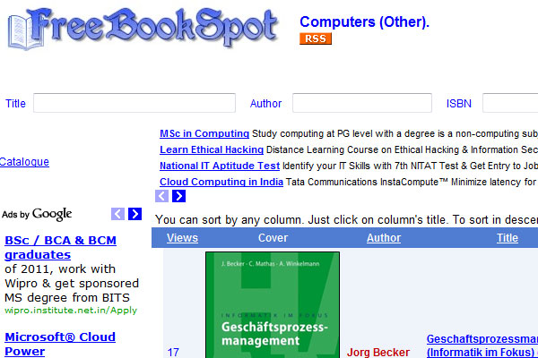 014346FD9 全球45个最热门免费下载电子图书的网站