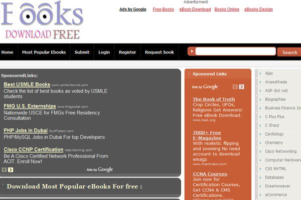 0143522IK 全球45个最热门免费下载电子图书的网站