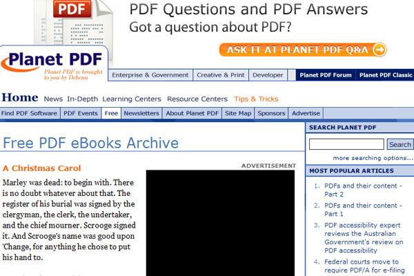 014355F3g 全球45个最热门免费下载电子图书的网站