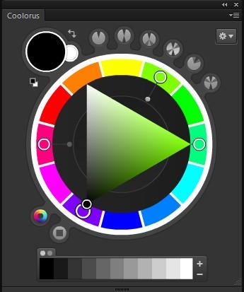 强大的PS配色神器Coolorus1.0破解版