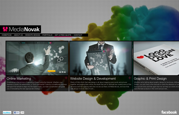 Video background website 6 10 Inspiring Design Websites with Video Background