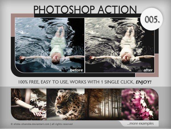 35个你会喜欢的Photoshop照片处理动作