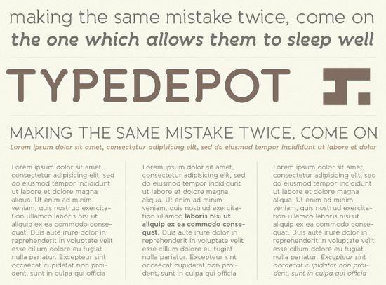 再也不纠结字体选择了!超全面的英文字体小结