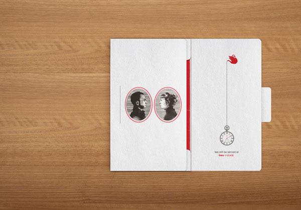 超棒的创意结婚请柬和邀请卡设计