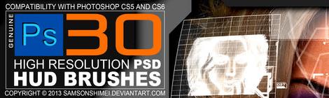 干货!30套最新的高端PS笔刷包免费下载 - 优设网 - UISDC