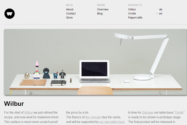 排版简洁的网页设计(1)