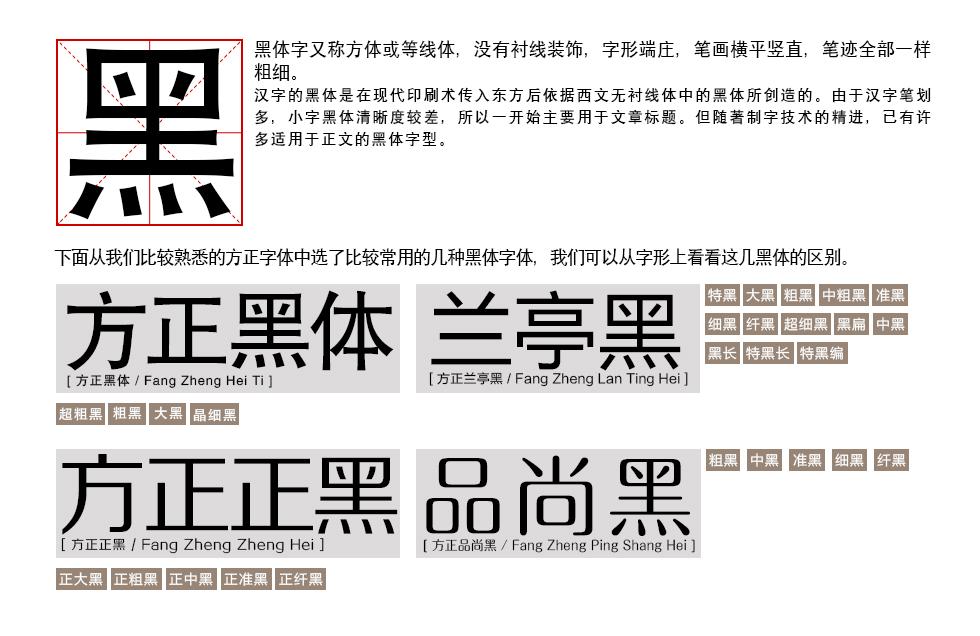 推荐!字体设计基础:字由心生