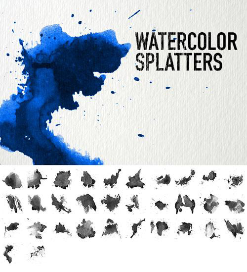 Watercolor_Splatters_brush