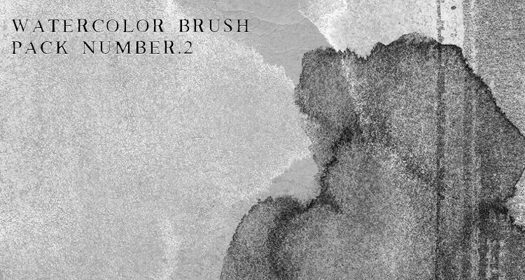 Watercolor Brushes - 50 Brushes