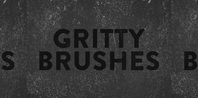 Gritty and Dirty Brushes - 7 Brushes