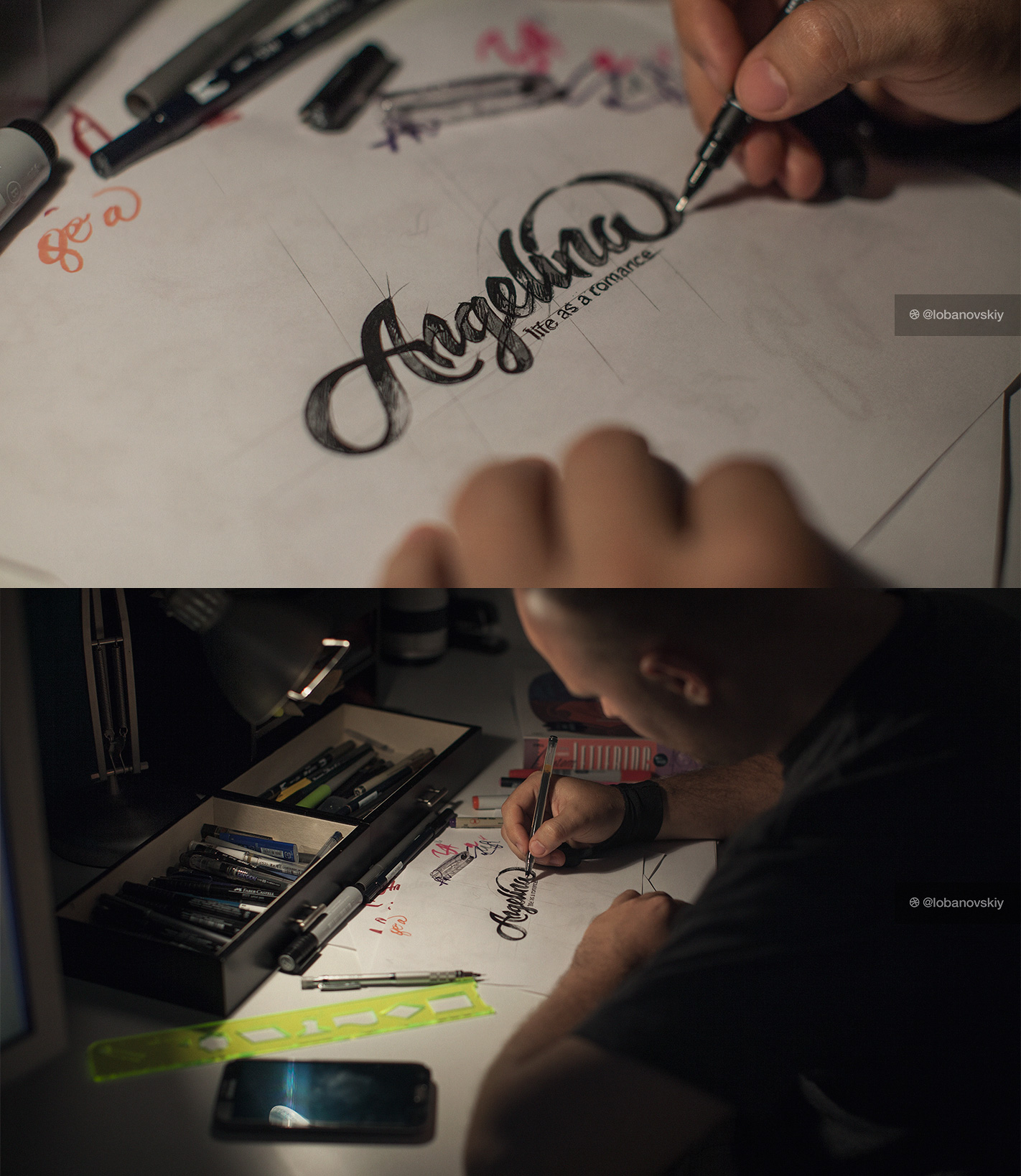 亲爱的设计师们,你多久没有动笔了?