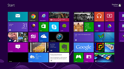 图3(windows8界面)