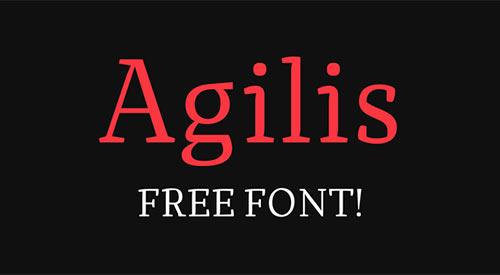 国外最新的44套时尚免费字体下载