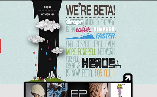 illustratedsites02 Amazing Usage of Vector Art in Web Designs