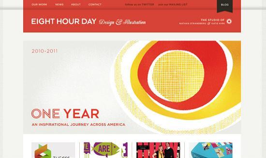 illustratedsites13 Amazing Usage of Vector Art in Web Designs