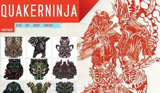 illustratedsites16 Amazing Usage of Vector Art in Web Designs