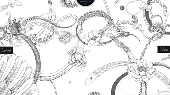 illustratedsites31 Amazing Usage of Vector Art in Web Designs