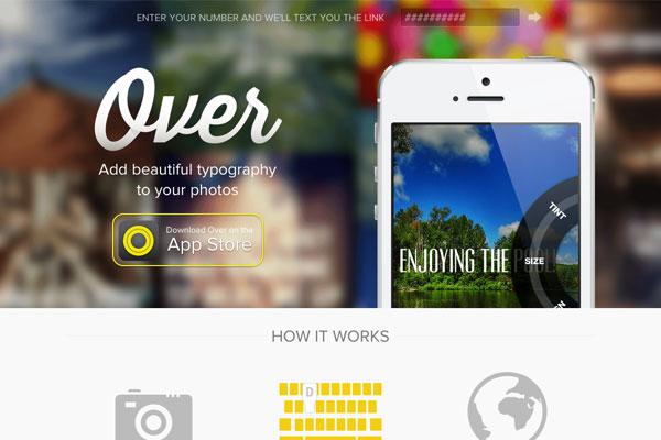 35个超赞的iOS App网站欣赏