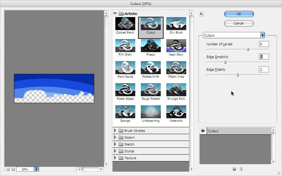 玩转Photoshop滤镜:通过木刻滤镜制作插图