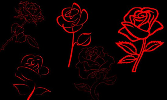 23-Free-Rose-Brushes